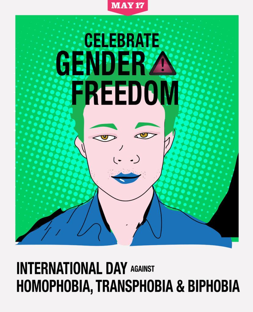 Celebrate gender freedom
